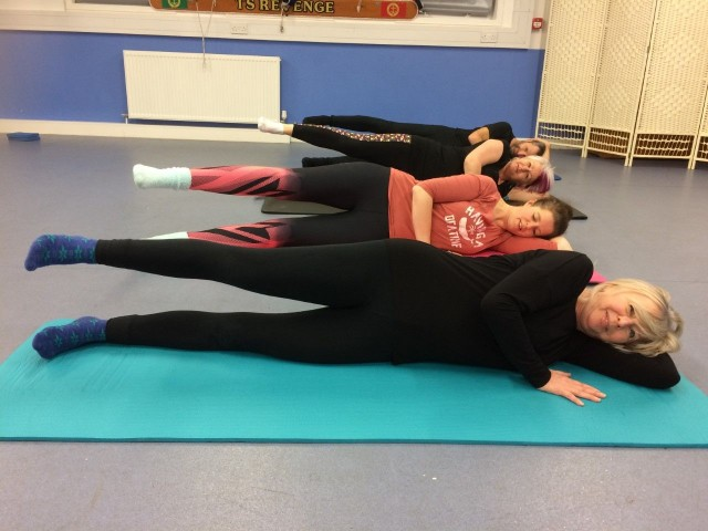 Pilates Classes book now