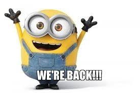 Were Back!!