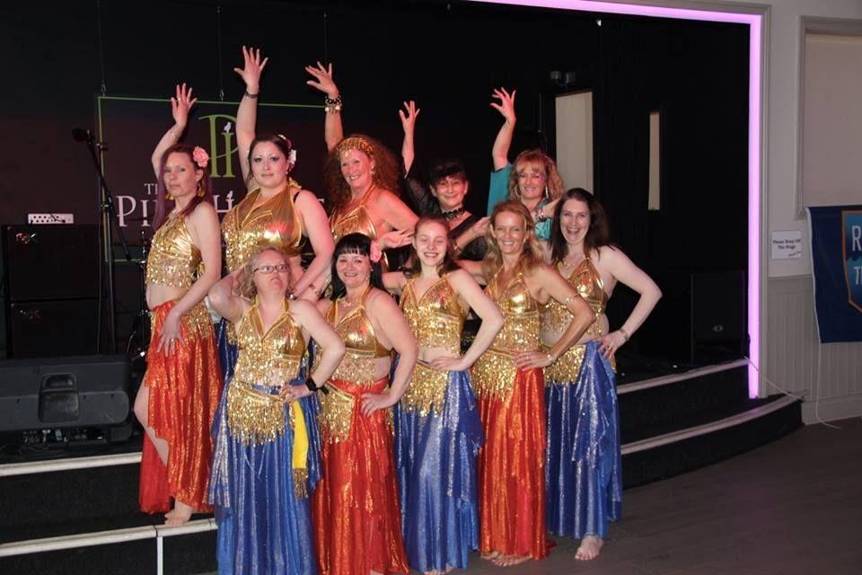 Belly Dance Divas support RNLI