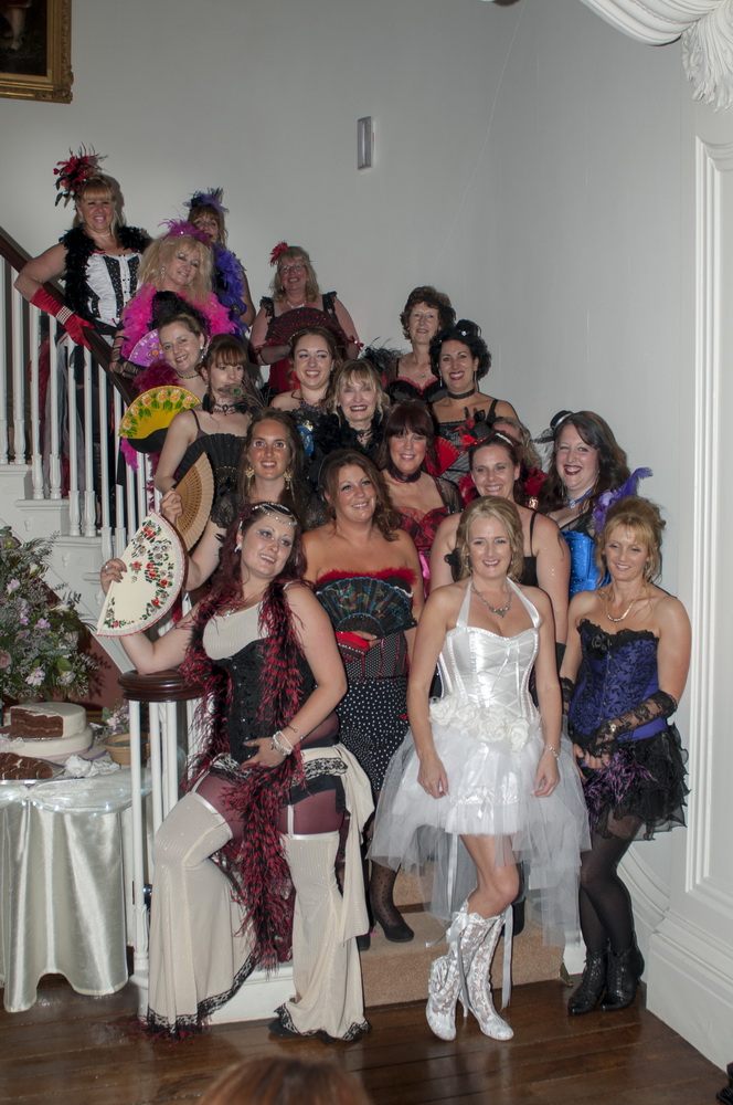 burlesque hen parties north devon